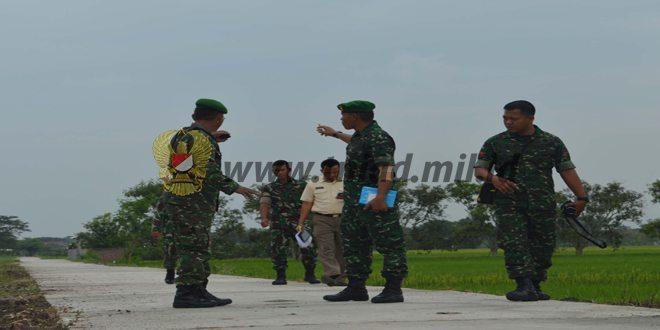 Tim Wasev Kodam IV/Diponegoro Kunjungi TMMD Kodim Demak