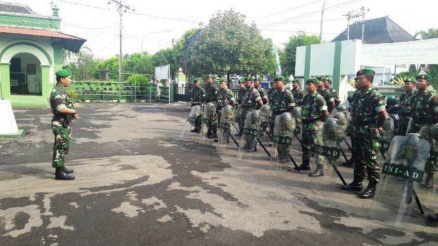 Kodim Blora Siagagakan Personel, Antisipasi Unjuk Rasa Buruh
