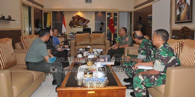 Danrem 072/PMK Terima Audiensi Fakultas Peternakan Universitas Gajah Mada
