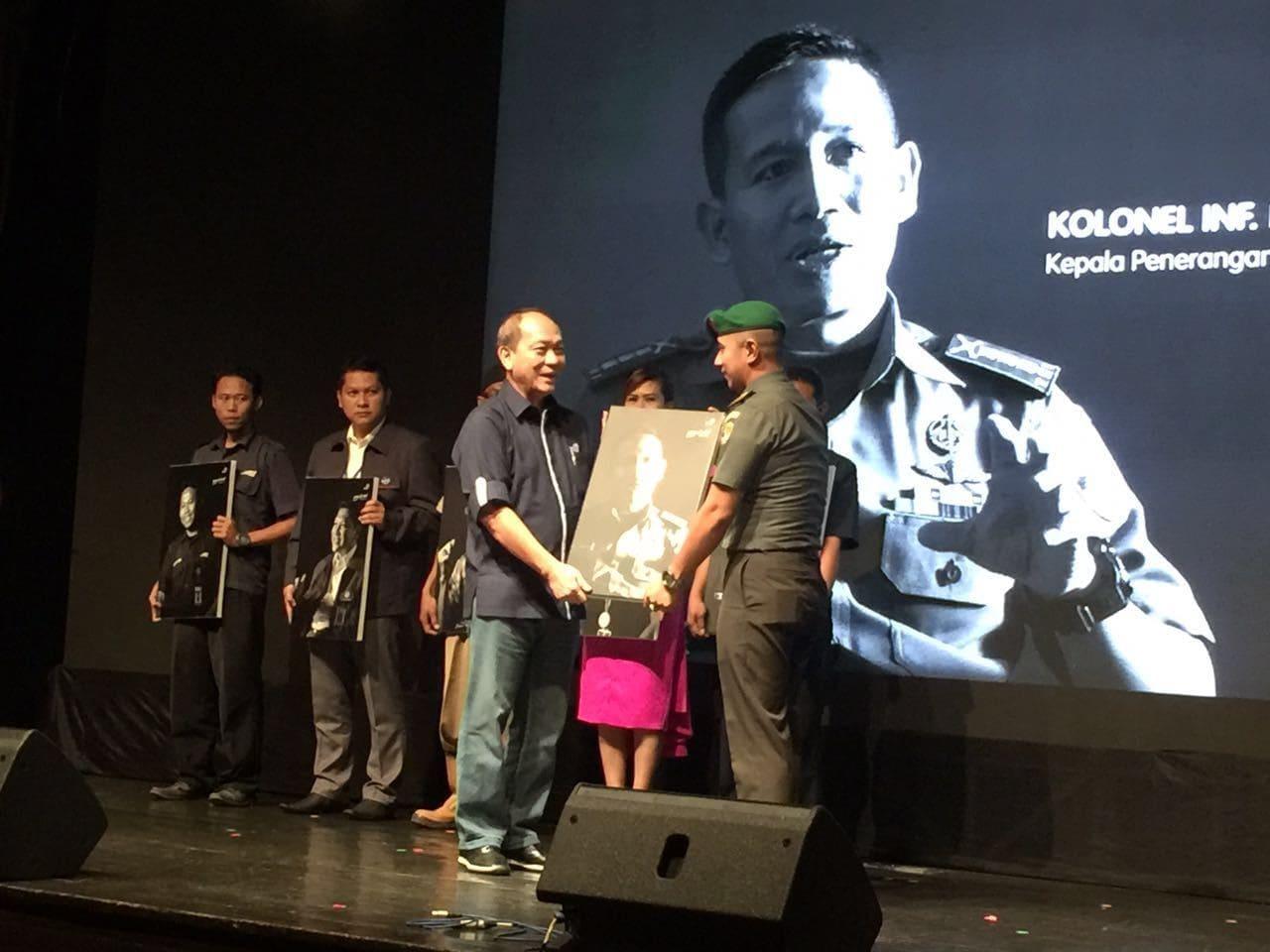 Kapendam Jaya Mendapatkan Penghargaan Peace Of Mind