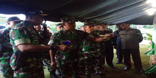 Panglima TNI Tinjau Pos Ekspedisi NKRI di Papua