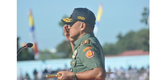 Panglima TNI Resmi Buka Latsitardanus XXXVI Di Prov Kep Babel