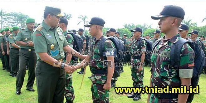Pangdam Lepas Tim Ton Tangkas Kodam IV/Diponegoro