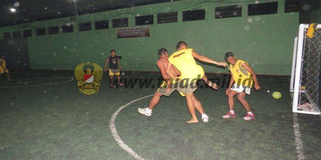 Jaring Talenta Muda ,Satgas TMMD Adakan Turnamen Futsal