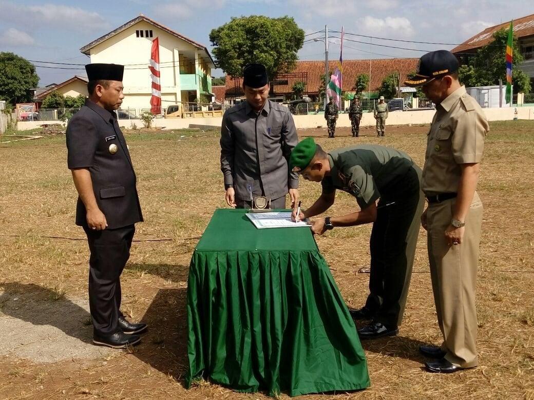 Walikota Bekasi Pimpin Pembukaan TMMD ke-96 Wilayah Kodim 0507/Bekasi.