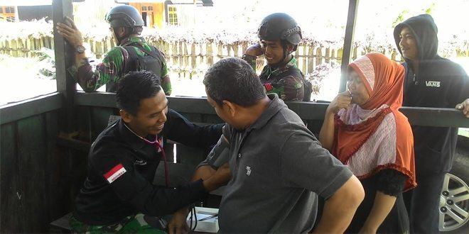Yonif Raider 509 Kostrad Gelar Kegiatan Karya Bhakti Di Papua