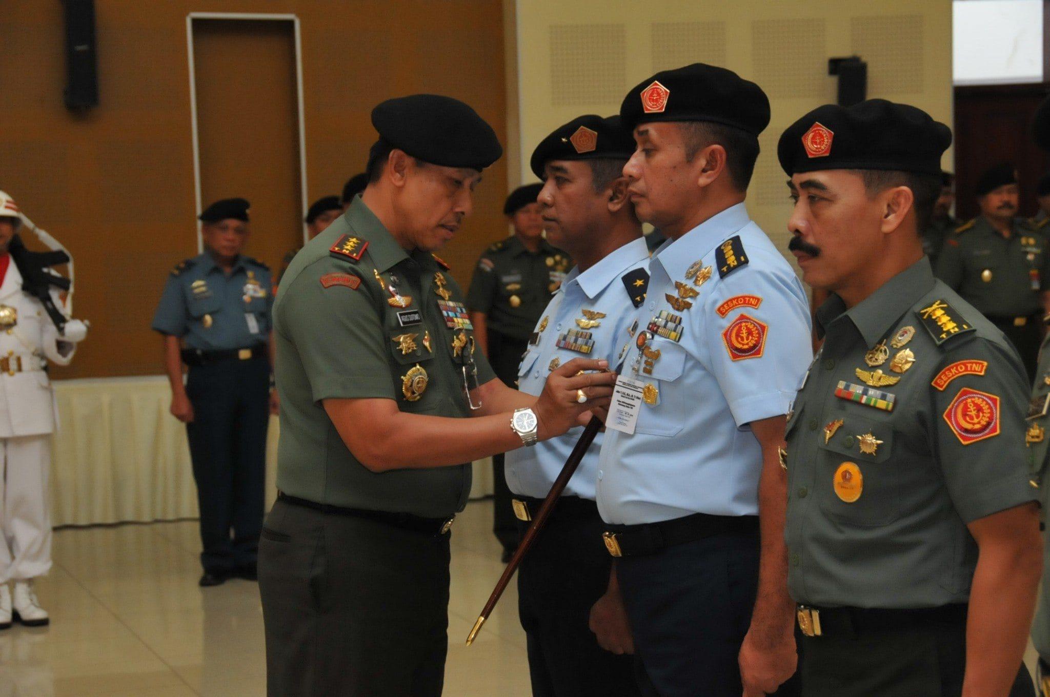 Serah Terima Jabatan Di Sesko TNI
