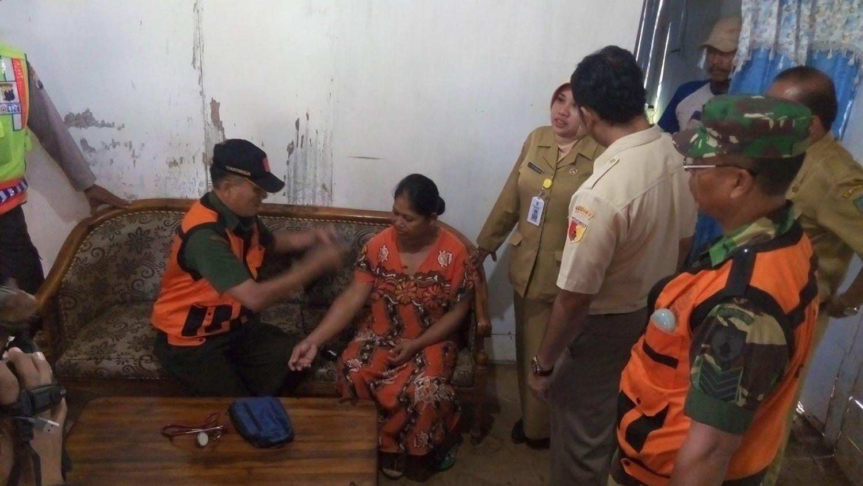 Tim Kes TMMD 96 Wilayah Jombang, Temukan Warga Penderita Gondok