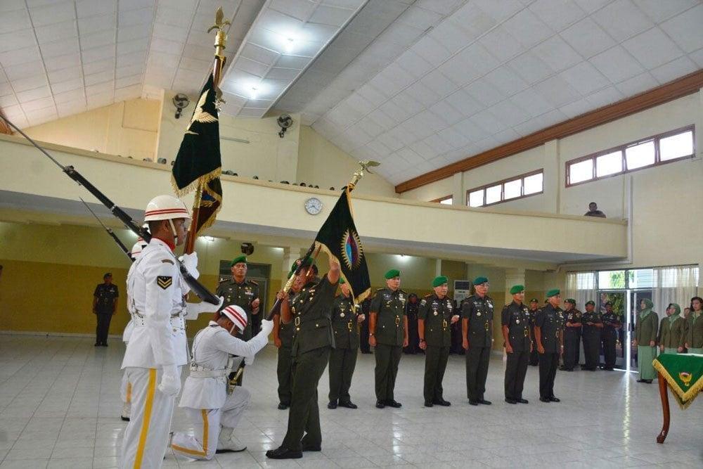 Pangdam Pimpin Sertijab 5 Pejabat Kodam II/swj