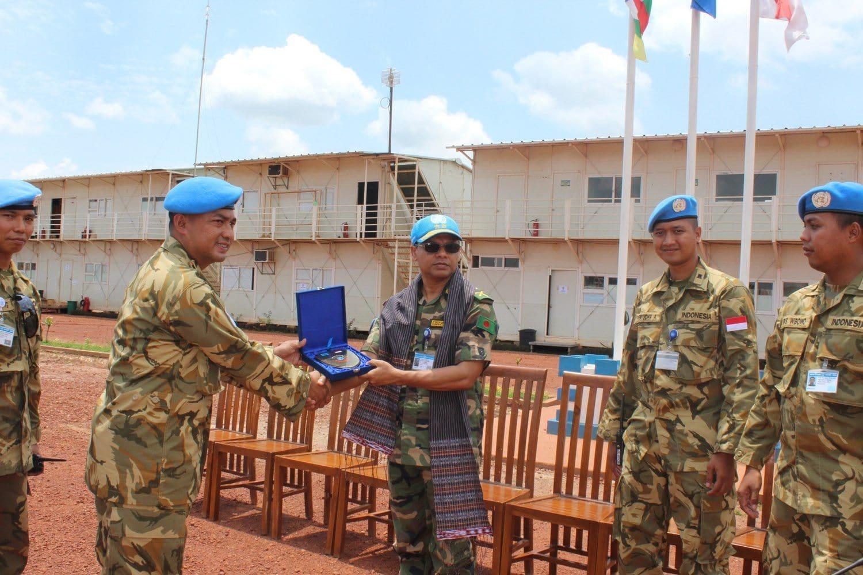 Force Commander Minusca Puji Kinerja Pasukan Garuda