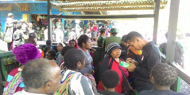 Dansatgas Yonif 509/Kostrad : Pengobatan Gratis Untuk Tingkatkan Kesehatan Masyarakat Papua