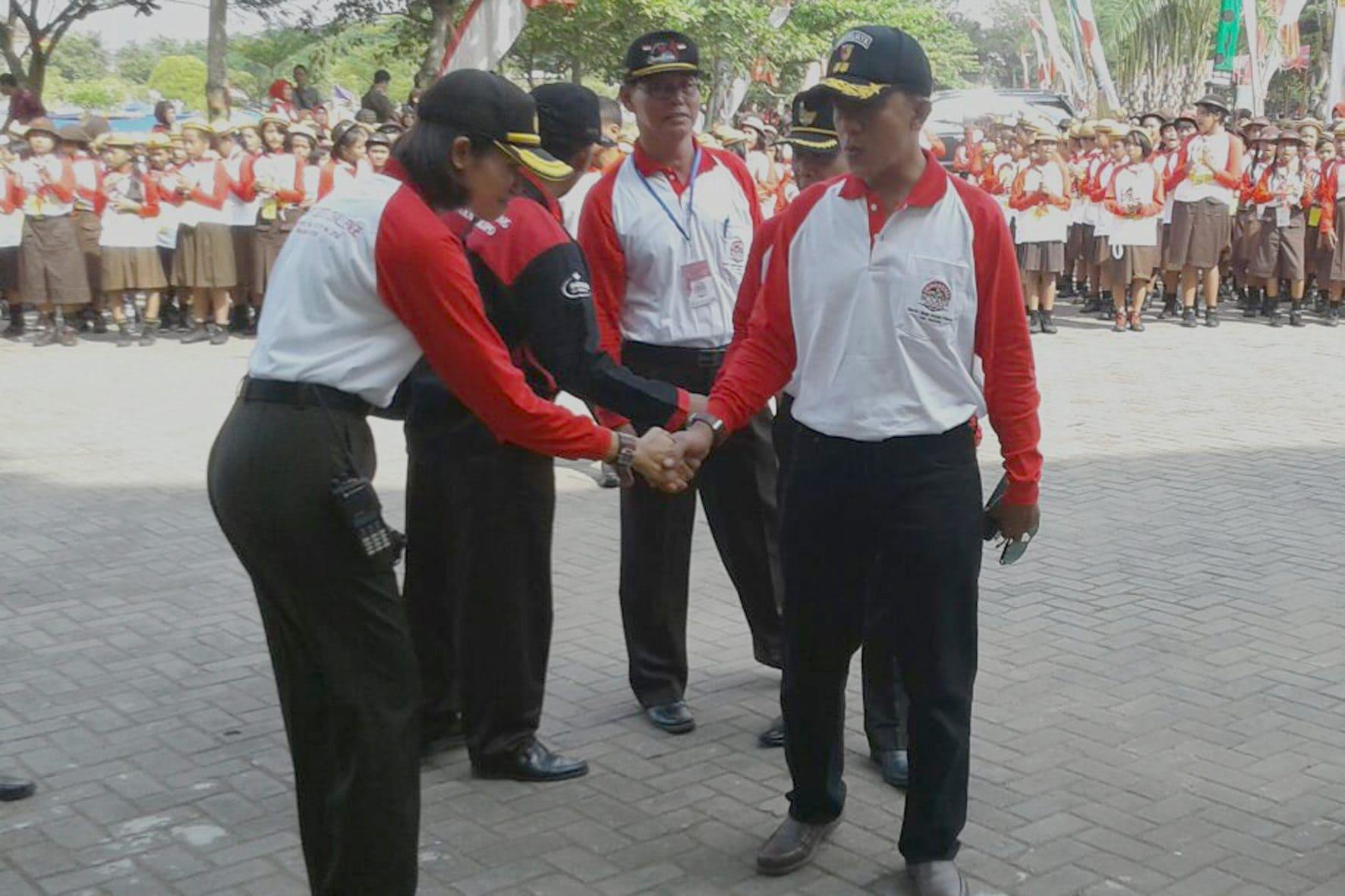 Pembukaan Peserta Indonesia Scouts Challenge (ISC) 2016 Gerakan Pramuka Kwarcab Kabupaten Madiun 4