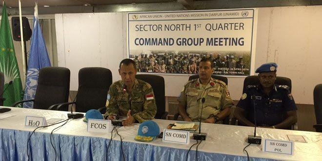 Rapat Pimpinan Sektor Utara Unamid Dibuka Oleh Jenderal Indonesia