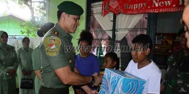 Pererat Silaturahmi Dengan Warakawuri, Korem 172/PWY Laksanakan Anjangsana