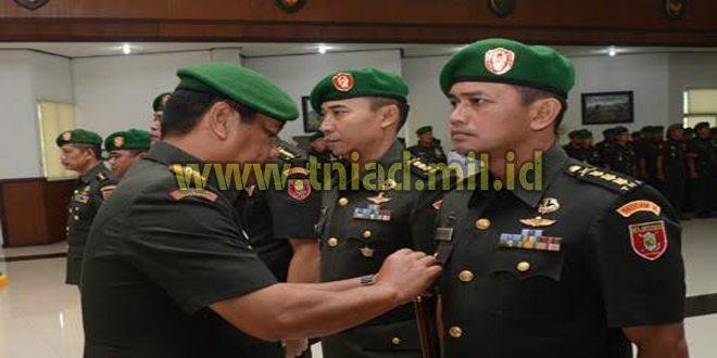 Pangdam VI/Mlw Pimpin Sertijab Pejabat Kodam VI/Mlw