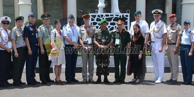 Pangdam IM Terima Kunjungan Kerja Atase Pertahanan Militer