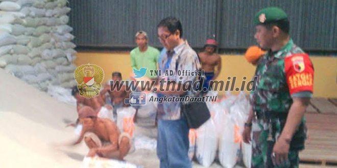 Kunjungan Kasub Bulog Madiun Kewilayah Koramil 0804/06 Maospati