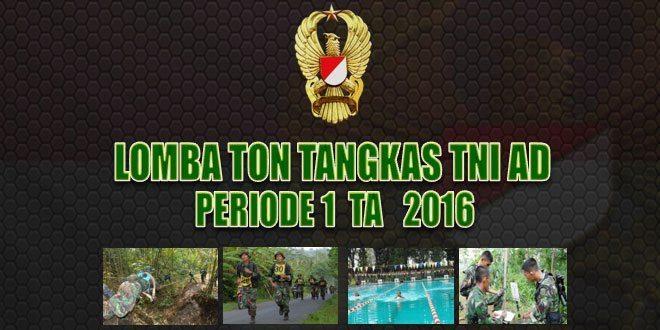 Kumpulan Foto-Foto Kegiatan Lomba Ton Tangkas Periode 1 TA 2016