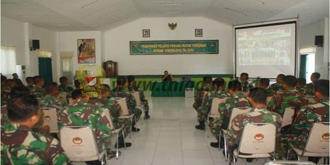 40 Prajurit Ikut Penataran Perang Hutan Tersebar di Rindam II/Swj