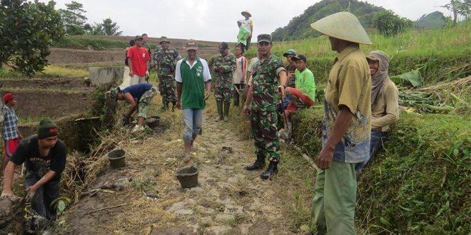 Dandim 0713/Brebes Tinjau Lokasi TMMD Desa Ragatunjung