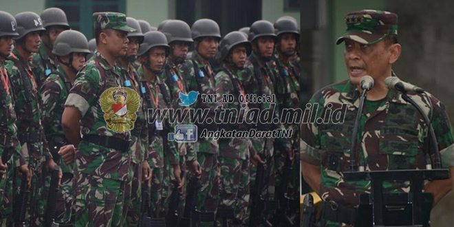 Dankodiklat TNI AD Pimpin Apel Pagi