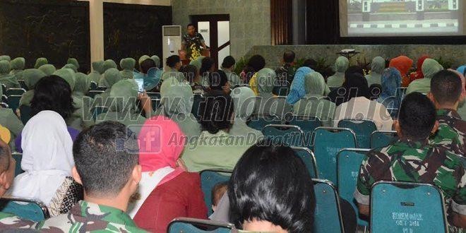 Korem 061/Suryakancana Bersama BKKBN Sosialisasi KB Kesehatan