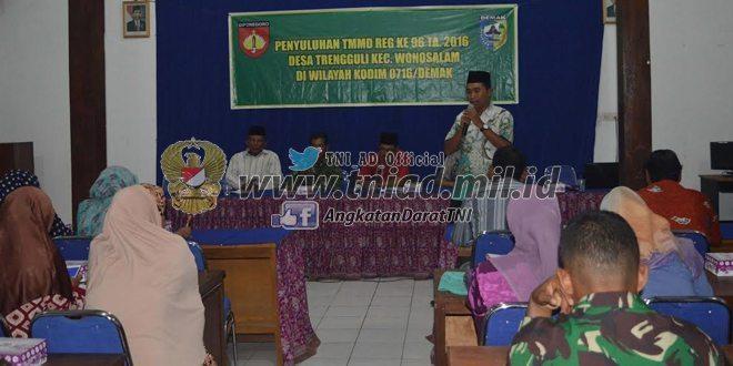 Gandeng PLKB, TNI Kodim Demak Beri Penyuluhan Soal HIV/AIDS