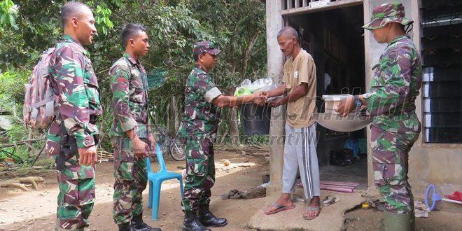 27 Keluarga Terima Bantuan Dari TMMD KE-96 Dim 0104/Aceh Timur