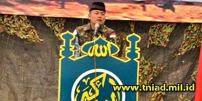 Prajurit TNI Konga XXIII-J Peringati Isra' Mi'raj 1437 H di Lebanon Selatan