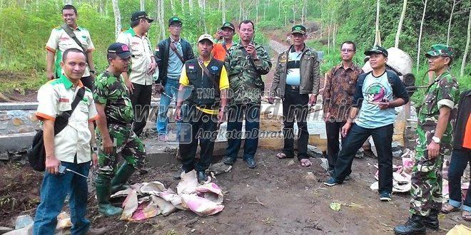 "Kunjungan RAPI Ke Lokasi TMMD – 96 Jombang, ""Salut Pada Ketrampilan Non Militer Satgas TMMD """