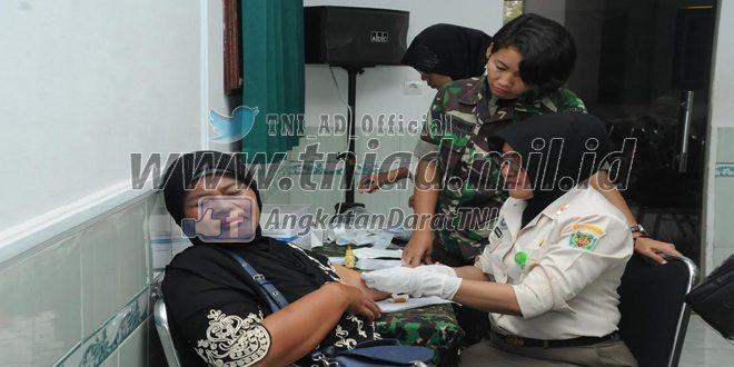 Sosialisasi Pendampingan Program KB Kesehatan Korem 063/Sgj