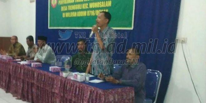 Gandeng Kesbangpol, TNI Kodim Demak Ajak Warga Tingkatkan Wawasan Kebangsaan