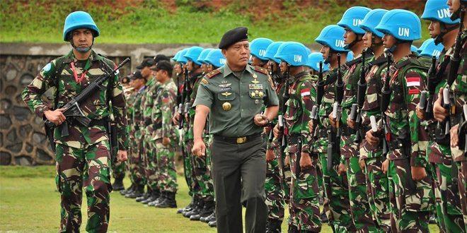 TNI Siapkan Satgas Kizi TNI Konga XXXVII-C ke Afrika