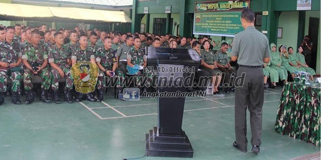 Penyuluhan Hukum Kakumdan I/BB Di Yonif Raider Khusus 136/Ts