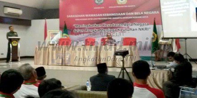 LDII dan Kodam Jaya Gelar Sarasehan Bela Negara