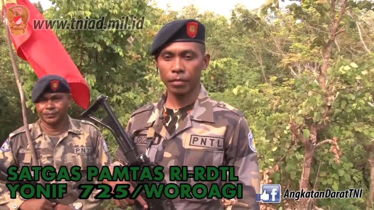 SATGAS PAMTAS RI-RDTL YONIF 725/WOROAGI