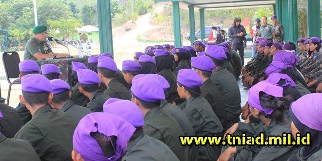 Danren Resmi TutupLatihan Menwa Wilayah Kepulauan Riau Angkatan Ke-19