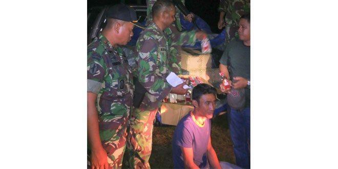 Satgas Pamrahwan Yonif Raider 509 Kostrad Perangi Peredaran Miras Di Papua
