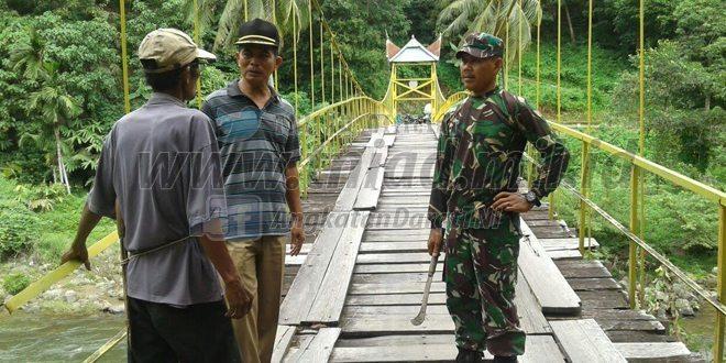 Koramil 06/Bayang Goro Persiapan MTQ Tingkat Kabupaten Pesisir Selatan