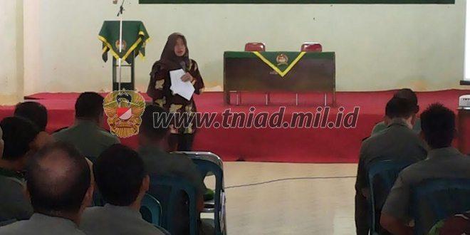 Kodim 0829/Bangkalan Gencar Sosialisasi Bahaya Narkoba