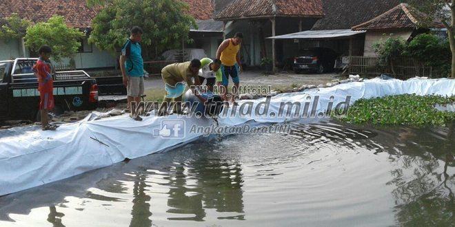 Ketahanan Pangan, Kodim 0829/Bangkalan Kembangkan Budidaya Nila