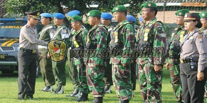 Apel Gelar Pasukan Operasi Patuh Semeru 2016 di Wilayah Madiun