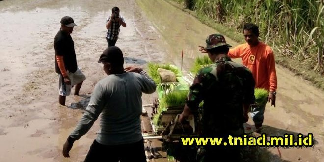 Babinsa Koramil 09/Prambanan Bersama Potan Ikuti Pelatihan Pertanian