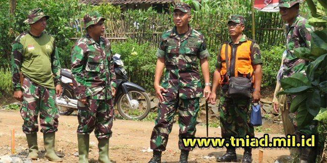 Pangdam V/Brw, Sidak TMMD 96 di Wonosalam Jombang