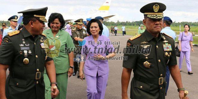 Pangdam Sambut Panglima TNI
