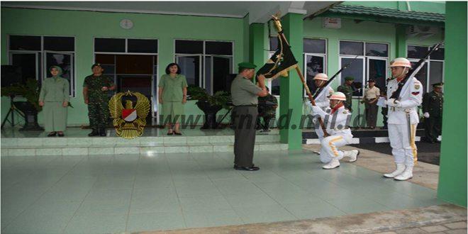 Personel Korem 041/Gamas Melepas Kolonel Inf Fajar Budiman