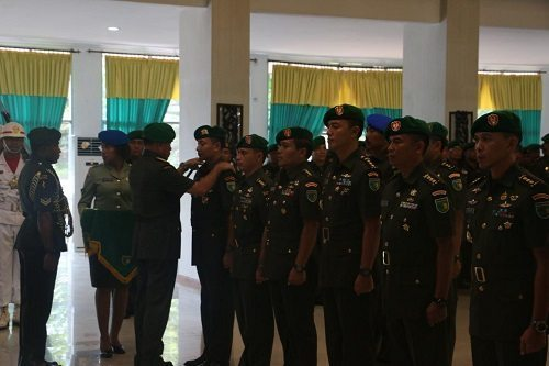Serah Terima Jabatan Wewenang dan Tanggung Jawab Pejabat Kodam XVII/Cenderawasih