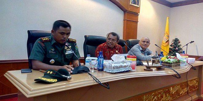 Dandim 1701/Jayapura Menginisiasi Pertemuan Para Pengurus FKUB