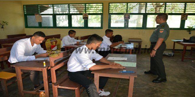 Subpanda Korem 173/Pvb Biak Menyelenggarakan Seleksi Rik Psikologi Calon Taruna Akademi Militer Ta 2016