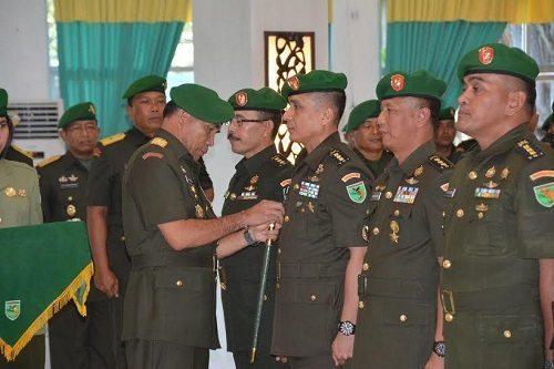 Pangdam Pimpin Sertijab Pejabat Kodam Xvii/Cenderawasih